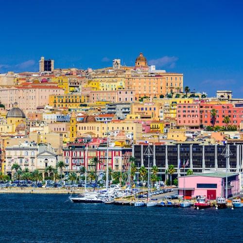 Sköna stränder, klart vatten och god mat i Cagliari.