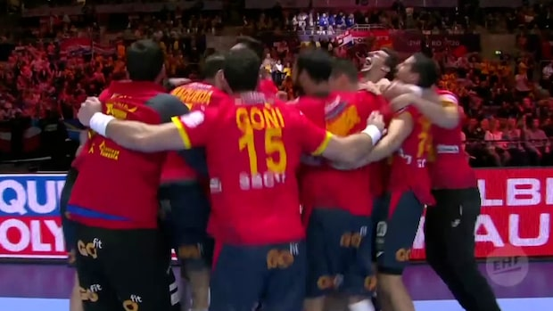 Höjdpunkter: Spanien vann EM-guld efter rysare