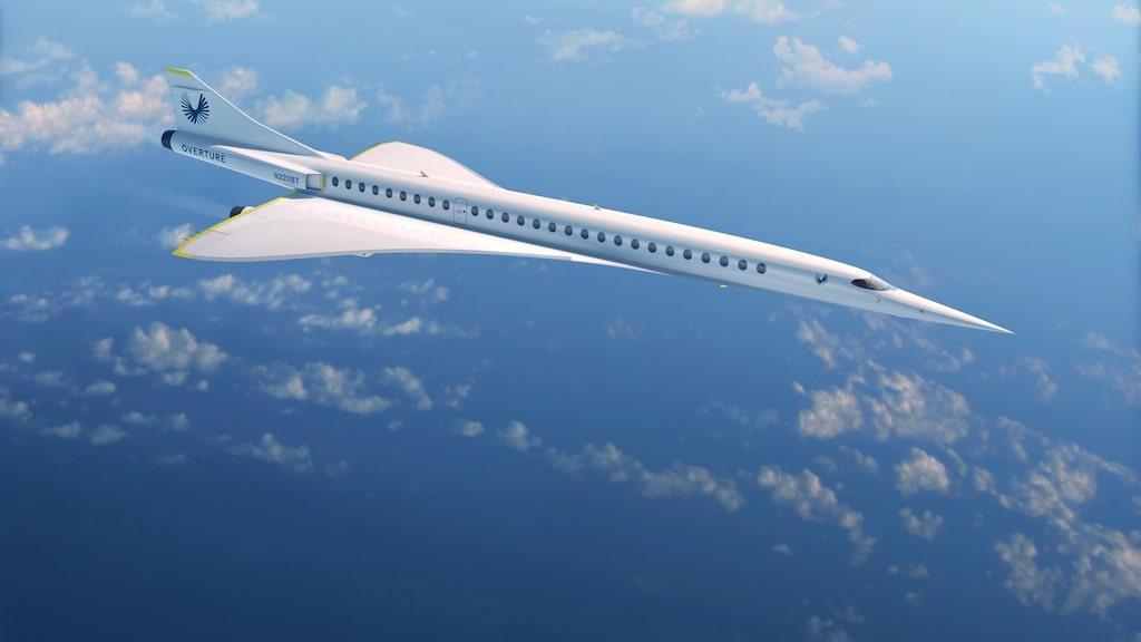 Planet skapare, företaget Boom Supersonic, har döpt det till Boom Overture.