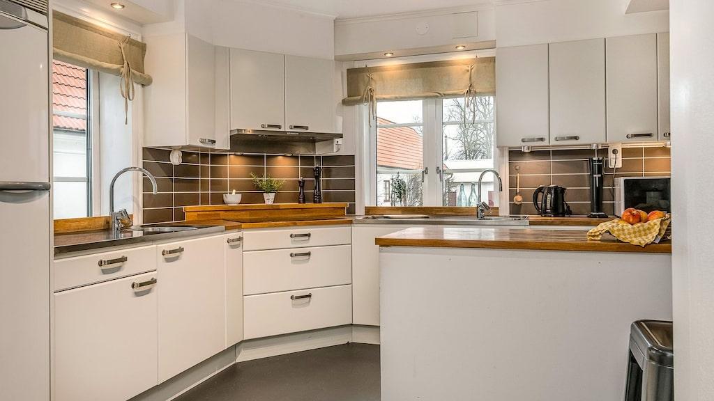 Det mindre köket.