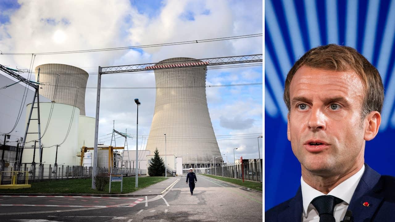 """Macron satsar på kärnkraft – vill bygga """"minireaktorer"""""""