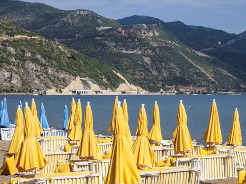 Ohridsjön är både vacker och ett alternativ för en albansk badsemester.