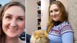 Cathrine skickade mystiskt meddelande – dog en timme senare