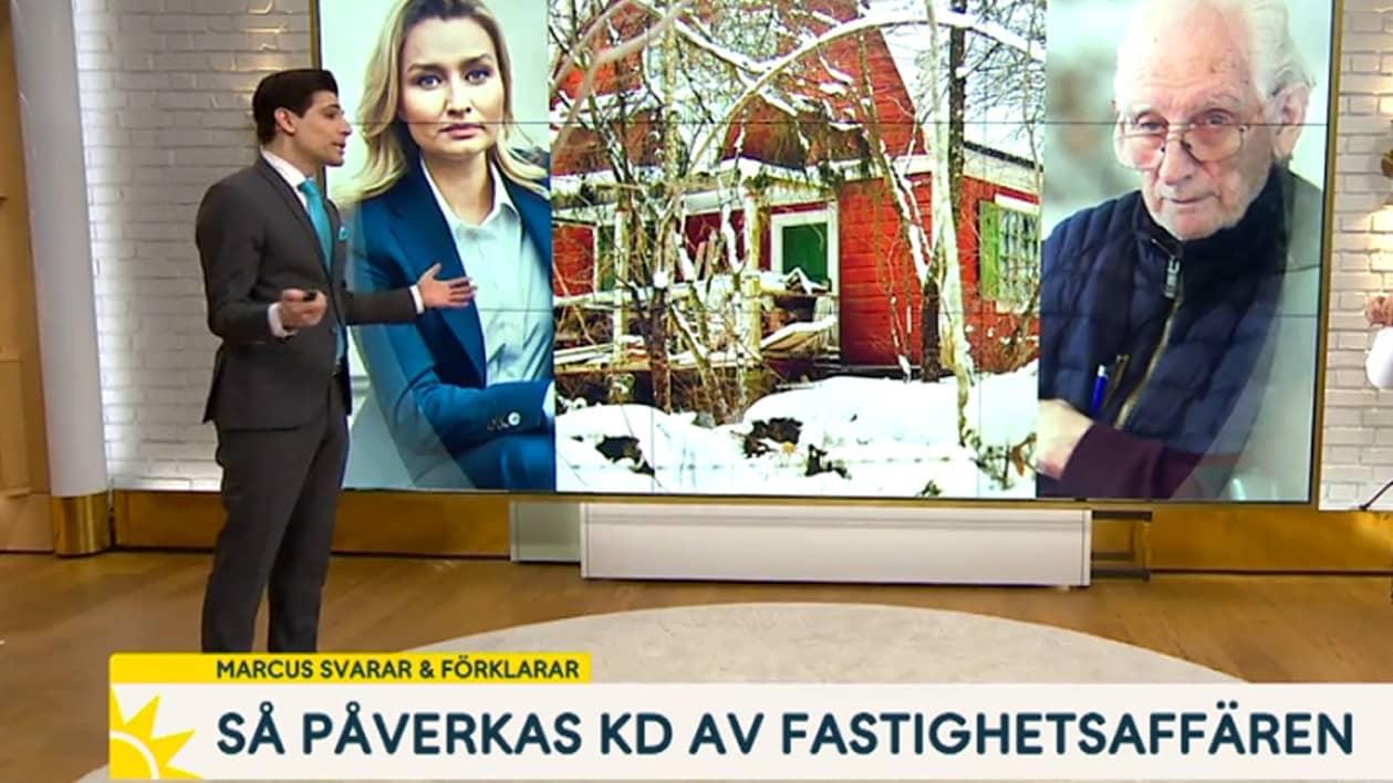 TV4-profilens inslag blir bevis för Ebba Busch