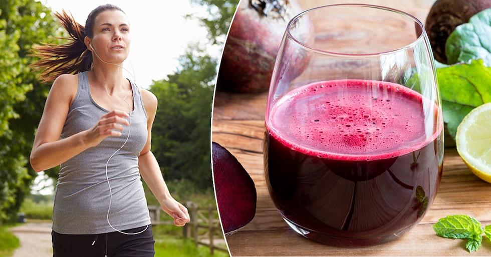 När du äter rödbetor som innehåller nitrat bildas kvävemonoxid i kroppen, som ökar syresättningen. Det kan öka uthålligheten i musklerna och förbättra träningsresultatet.