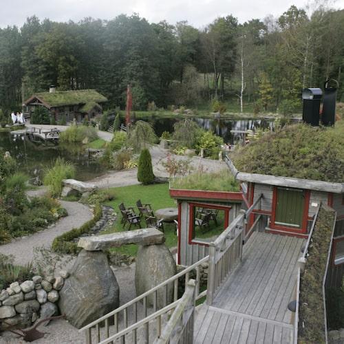 Sinnenas Spa i Tvååker – ett sagolikt utomhusspa.