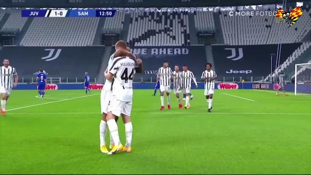 Drömdebuten: Kulusevskis första mål i Juventuströjan