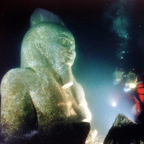 Länge trodde man att Heraklion var en myt.