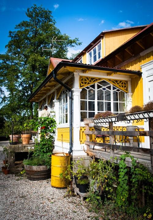 Pensionat Gula hönan på södra Gotland är ett klassiskt och mycket populärt ställe med hög svansföring i köket.