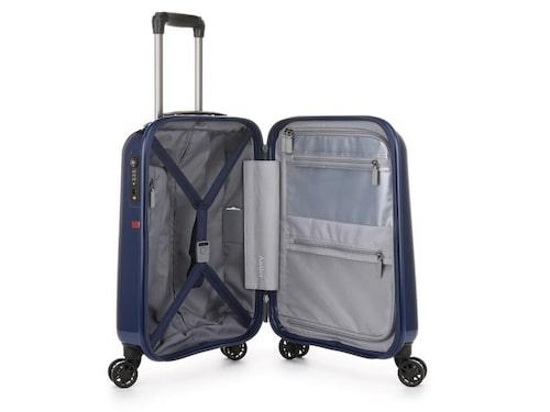 Global Antler, stilig resväska med skönt handtag.
