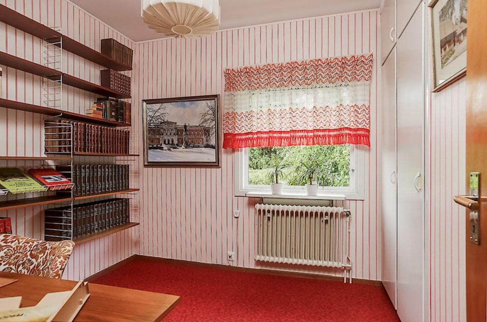 Ett av rummen som tar dig tillbaka till 50-talet.