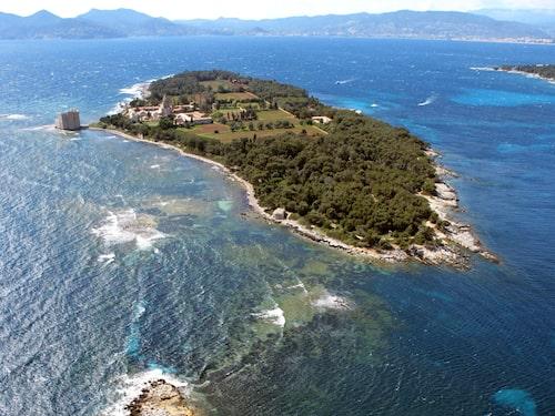 Missa inte båtturer till öarna Les Iles de Lérins utanför Cannes.