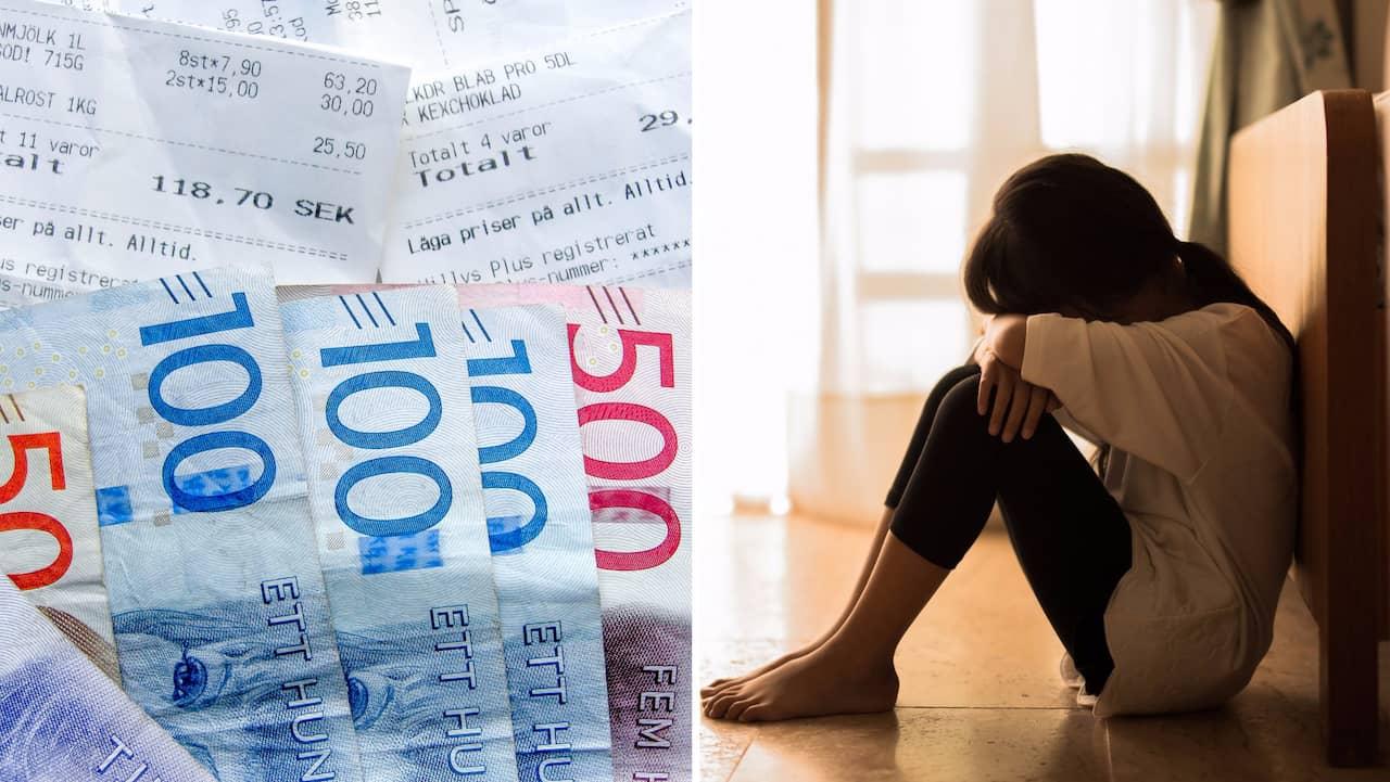 Nya siffror: Rekordhög andel svenskar fattiga