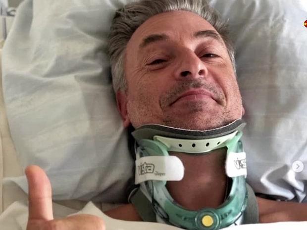 """Tareq Taylor bröt nacken: """"Jag hade änglavakt"""""""