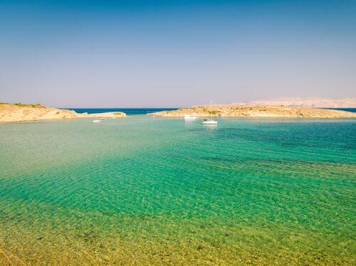 Rab har en av kroatiens bästa sandstränder