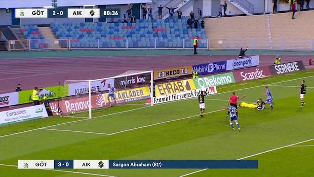 Höjdpunkter: IFK Göteborg-AIK