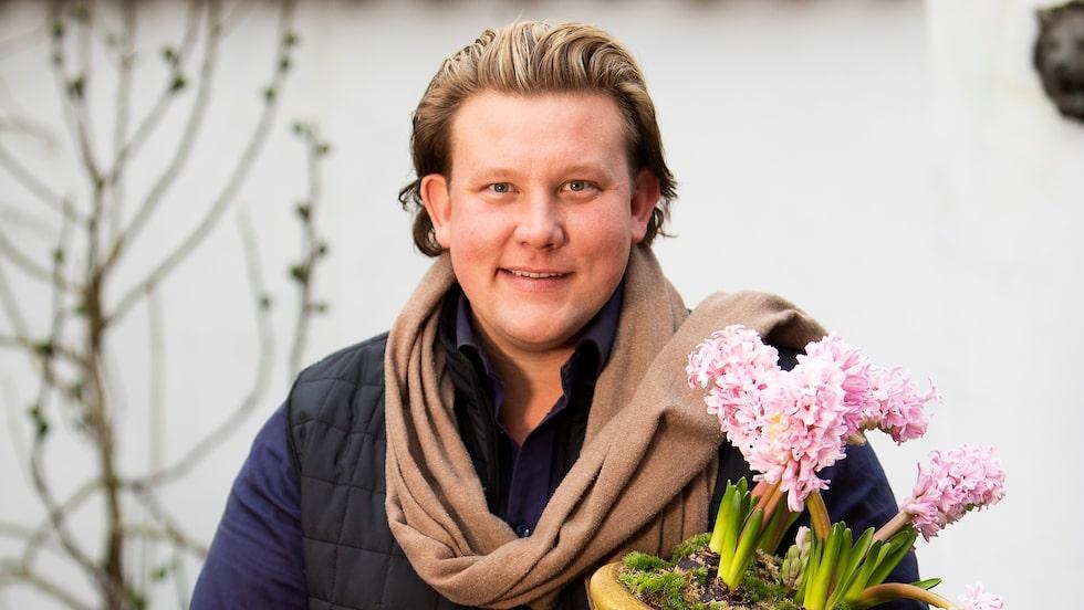 Karl Fredrik Gustafsson gick från florist och trädgårdsmästare till rikskänd tv-stjärna.