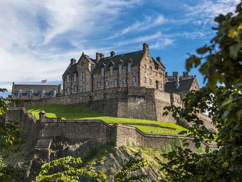 Skotska Edinburgh Castle är världens mest instagrammade slott.