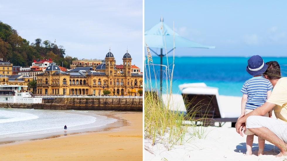 Bästa stranden i Europa och världen.