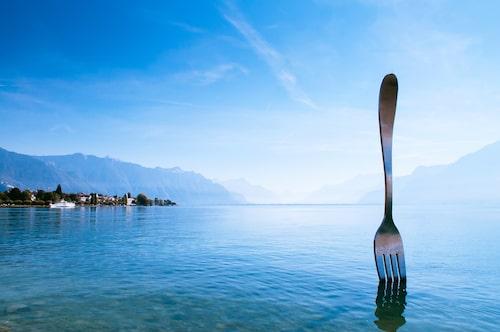 Fork of Vevey – världens största gaffel.