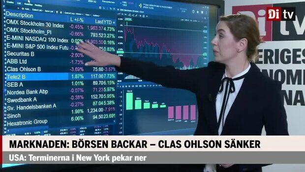 Marknadskoll: Majoriteten av storbolagen handlas ner - Securitas i botten