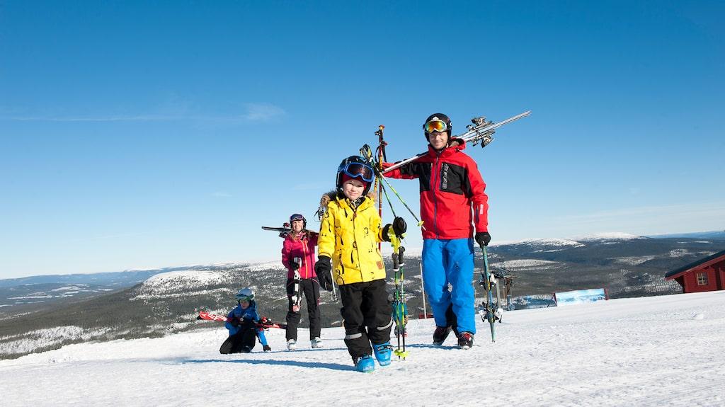 Billigast är Val Gardena i Italien – dyrast är Trysil i Norge.