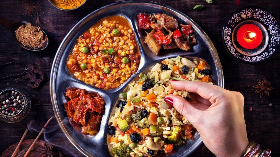 I stora delar av Asien, däribland Indien, är gurkmeja en väldigt vanlig ingrediens i matlagningen.