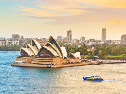 Sydney är en utav städerna som är inkluderade i resplanen.