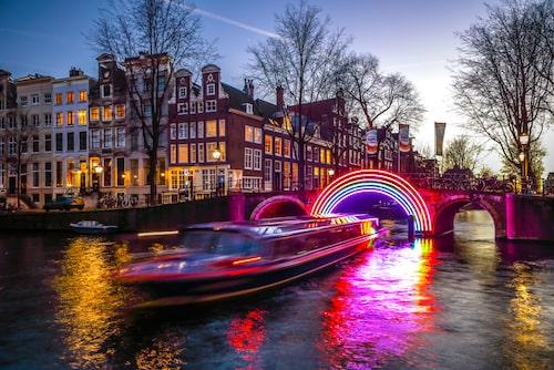 Amsterdams ljusfestival är en upplevelse man sent ska glömma!
