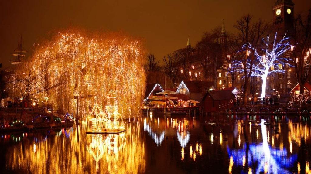 <p>Jul på Tivoli.</p>