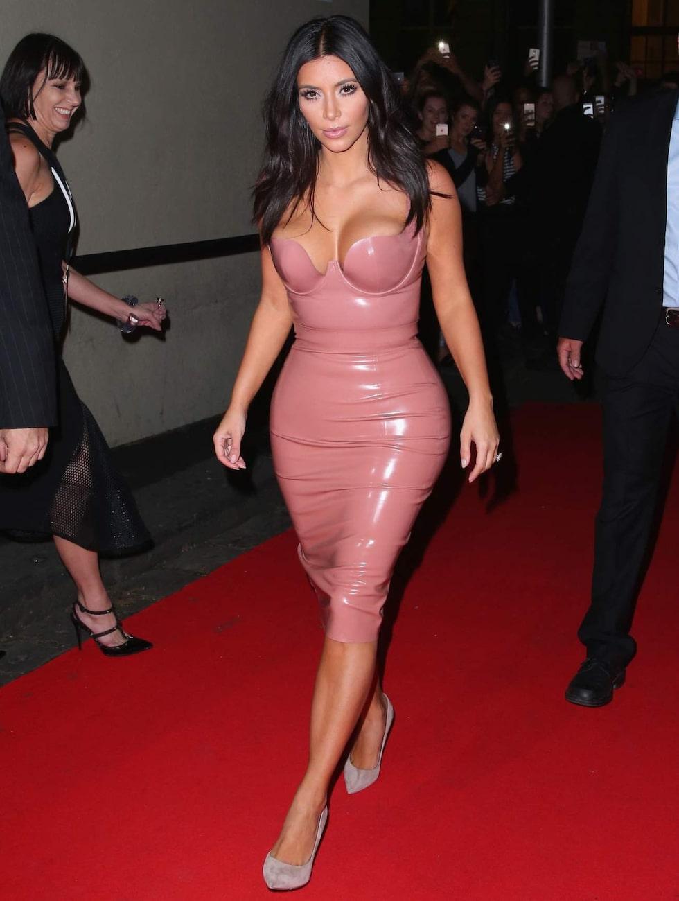 Världens mest kända bakdel. Kim Kardashian har tagit över tronen efter Jennifer Lopez och har i flera intervjuer sagt att hon är stolt över sin rumpa.