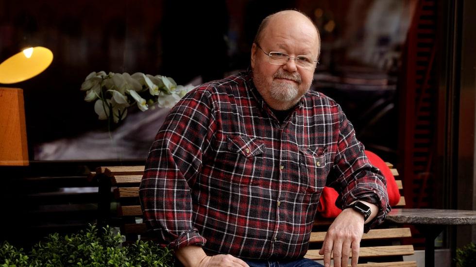 """Förutom att Kalle Moraeus har minskat i vikt under """"Den stora hälsoresan"""", har hans testosteronvärde skjutit i höjden."""