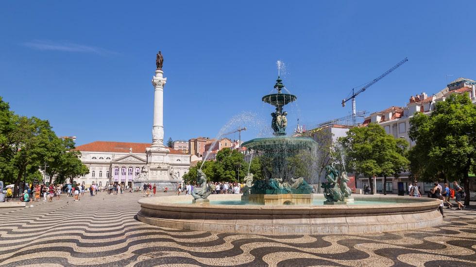 Praça do Rossio, Lissabons mest kända torg.
