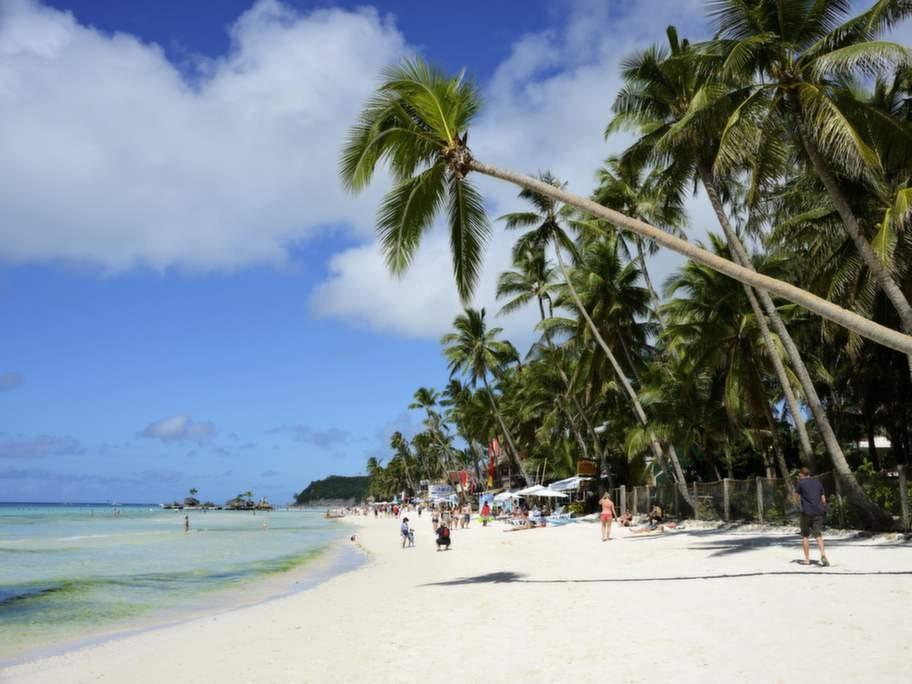 White Beach, BORACAY, FILIPPINERNA.