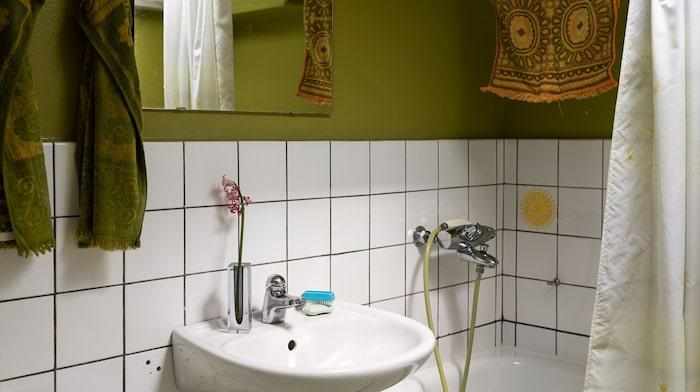Ett av husets badrum.