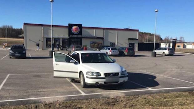 Bandidosmän fastnade i polisens Burger King-fälla