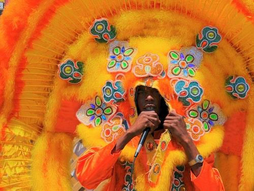 Den afroamerikanska hyllningen till indiankultur är speciell för New Orleans och har rötter i 1800-talet. Den visar sig under festivaltider i form av fantasifulla dräkter.