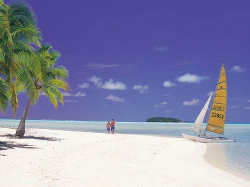 Cooköarna ligger nordost om Nya Zeeland.