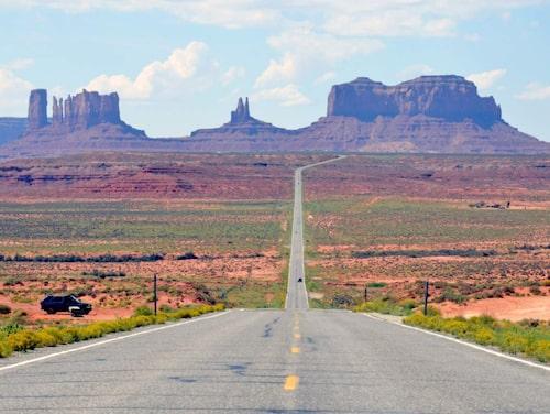 Monument Valley – som i en gammal västern.