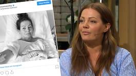 Johanna Toftby tvingades operera bort livmodern