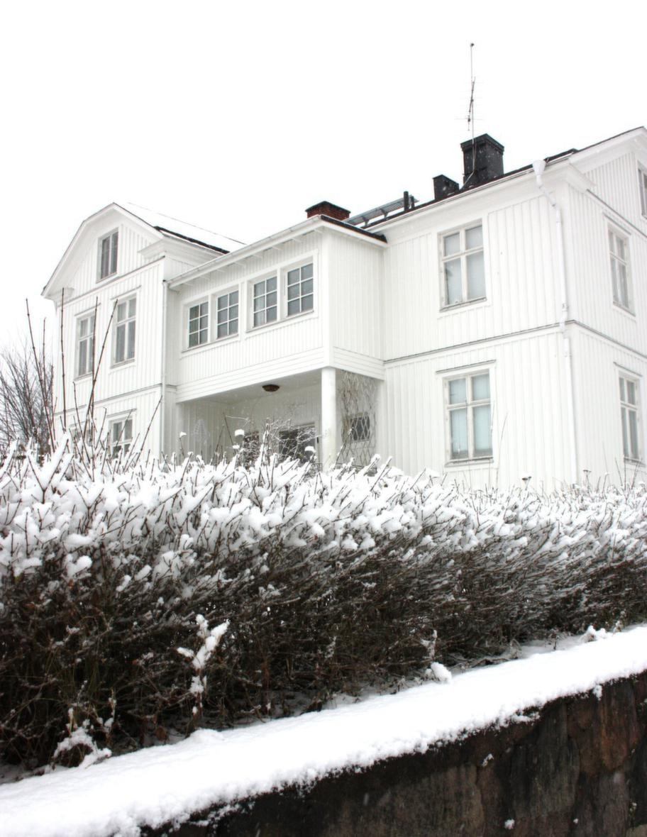 JULTID. Vårt underbara hus i vinterskrud.