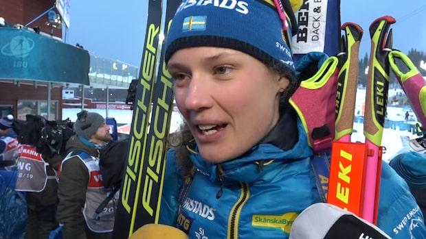 """Hanna Öberg: """"Klart att det är surt"""