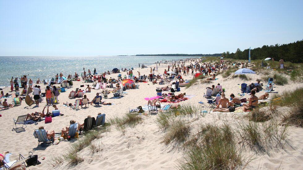 Stranden Böda Sand.