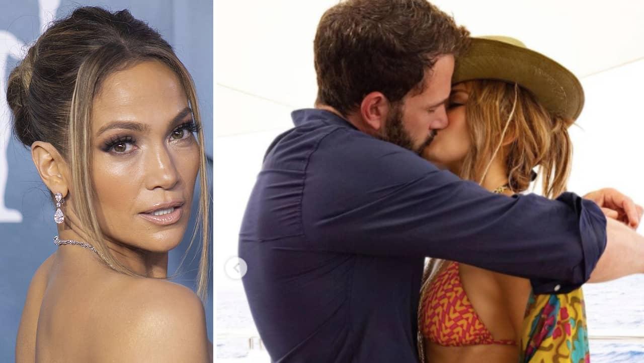 J-Lo och Ben Afflecks heta kyss - äntligen officella