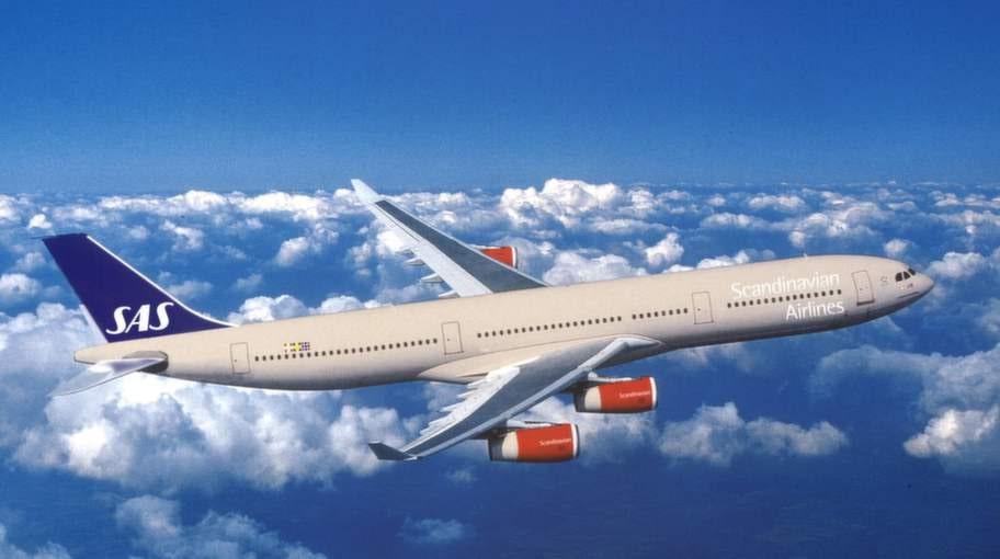 De skandinaviska länderna hamnar i topp när det gäller flitigast resande.