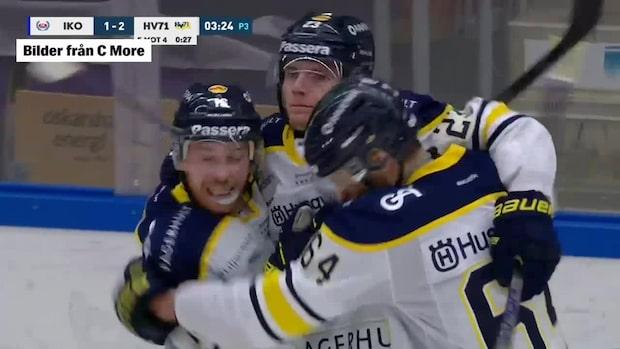 Highlights: Lias Andersson hjälte för HV71