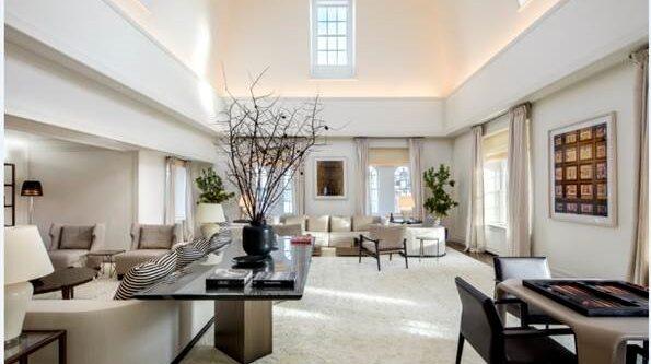 New Yorks dyraste hotellrum kommer på andra plats.