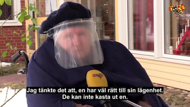 """95-åriga Svea: """"Hoppas jag får bo kvar"""""""