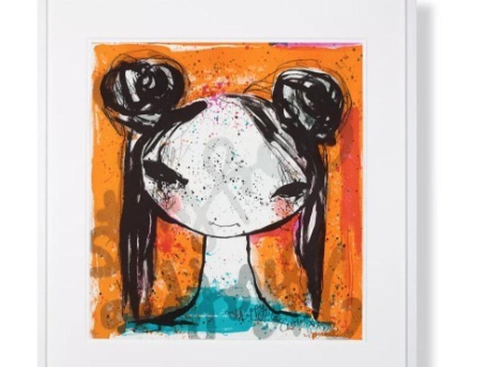 """""""Scarlett"""" av Lisa Rinnevuo – nu finns ett begränsat antal signerade och numrerade litografier i LEVA&BO:s konstgalleri. Klicka på plustecknet i bilden för att lägga direkt i din varukorg. Du kan också välja att få din litografi inramad och klar. Välkommen till LEVA&BO:s konstgalleri!"""
