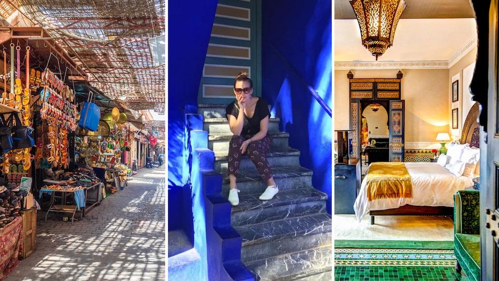 Marrakech är som en saga, säger Sanna Lundell.